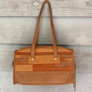 Hobo Original Leather/Suede Shoulder Bag